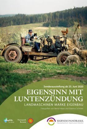 Eigensinn mit Luntenzündung - Ausstellung im Barnim Panorama