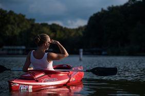 Ausflug mit dem Kanu oder Boot