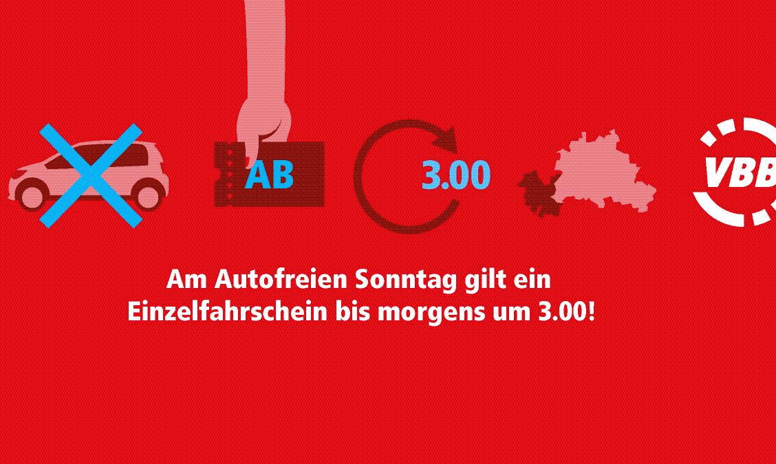 Autofreier Sonntag am 22.09.2019
