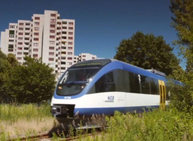 Stammstrecke der Heidekrautbahn / Märkisches Viertel