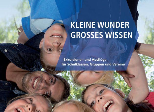 """Broschüre """"Kleine Wunder, großes Wissen"""""""